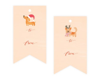 Dogs Gift Tag Pack