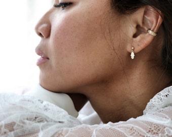 Hamsa | Hand of Protection | Dainty Earrings