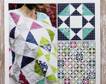 Hop Skip Jump Quilt Pattern - Moda- V and Co. - Vanessa Christenson - VC1230