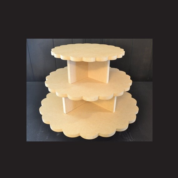 Making A Two Tier Cake Stand