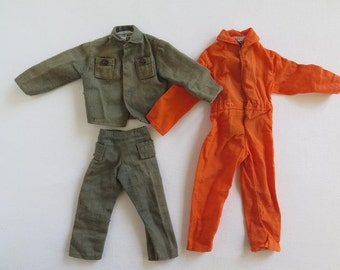 Action Man Army Uniform,Action Man Overall, Action man