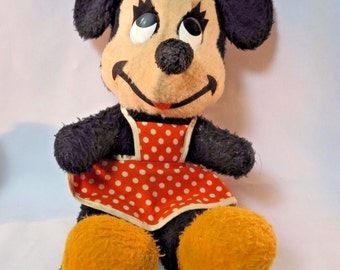 Minnie Mouse Plush Etsy