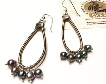Bass Strings Earrings