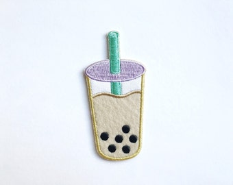 20% off TAPIOCA DAY SALE Boba Milk Tea Patch