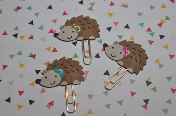 Hedgehog Paper Clip