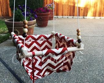 Baby Fabric Swing. Outdoor/Indoor Baby/Toddler Swing.