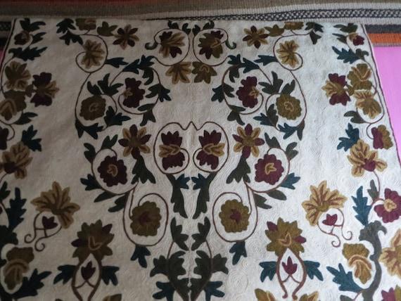 Minze Vintage / Teppich/Wandbehang Kette von Luxegoods4sale auf Etsy