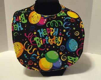 Baby Bib - Happy Birthday