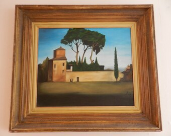Forte by Leomar - (Fort) - 1998 - Oil on Canvas – 50cm x 60cm