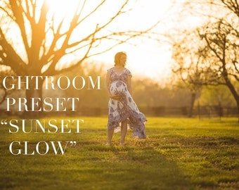 LIGHTROOM PRESET - Sunset Glow