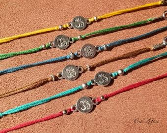 Ethnic bracelet ૐ