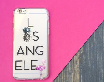 "Clear Plastic Case Cover iPhone 6Plus (5.5"") So La"