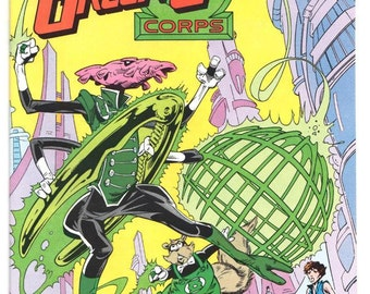 Green Lantern Corps - Issue's 214 215 216 218 219 - 1987 - Copper - NM+ - U-PICK - Priced Each - Dc Comics