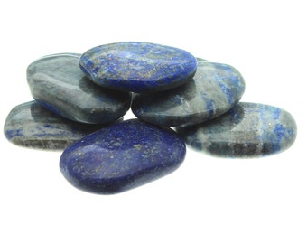 Pyrite and Lapis Gift Palm Stone (3 Pack)