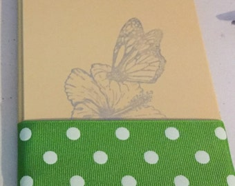 Butterfly notecards set of 12 with envelopes
