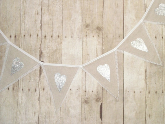 Wedding Banner -Custom - Rustic Decor - linen and lace - wedding bunting - lace banner -Wedding decor - wedding shower banner - bride to be