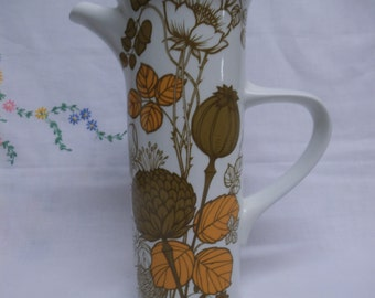 Stylish Midwinter Countryside Coffee Pot - c. 1970's