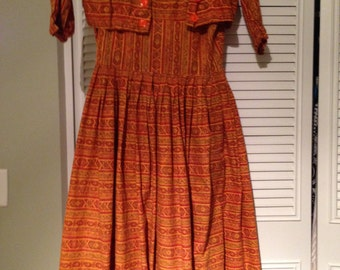 1950's Pin Up Mad Men Dres