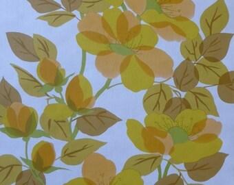 Mid-Century-Modern-Iconic-Hues-Floral-Belinda-Vintage-Original-Wallpaper