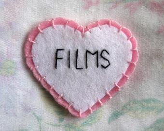FILMS Felt Heart Patch