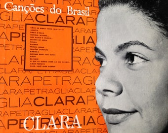 Cancoes do Brasil - Clara Petraglia - vinyl record