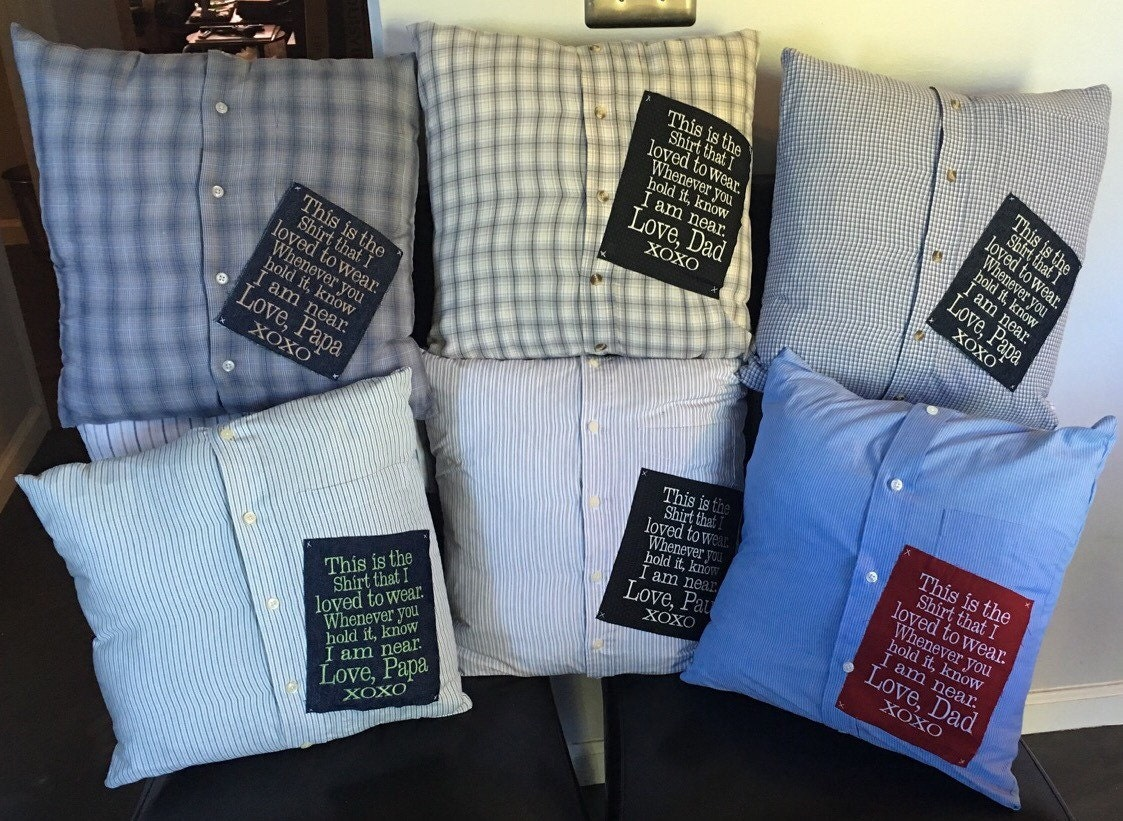 Custom Memory Pillow Shirt Pillow By LiviLouSewShoppe On Etsy