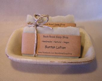 Suntan Lotion Soap