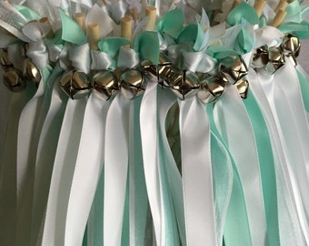 50 Wedding Wands/Wedding Ribbon Wands/Wedding Wand/Wedding Streamers