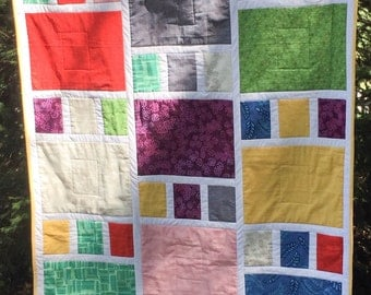 Craftsman Design Crib quilt