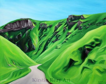 Original Painting, Winnats Pass