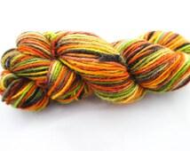 Autumn forest, Merino Alpaca yarn, hand dyed