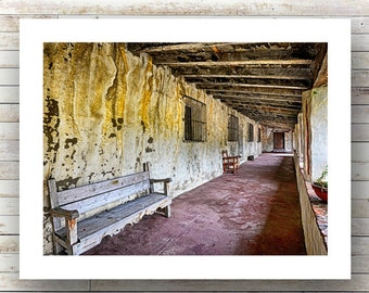 SO FAR AWAY -Carmel Mission - Monterey Peninsula -17 mile drive - Landscape Photography -Fine Art Photograph-Limited Edition of 250