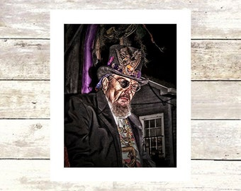 THE ROYAL DOCTOR New Orleans Art Dr. John Fine Art Photograph Limited Edition Mystical Collection Jazz Rock Music Icons Such A Night