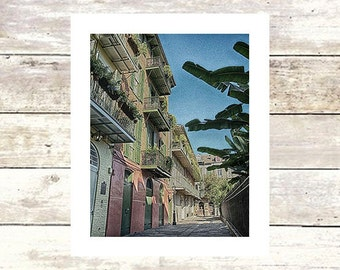 PIRATE'S ALLEY  New Orleans Art   French Quarter  Fine Art Photograph  Limited Edition of 250  Louisiana Art  John Darre Fine Art Jackson Sq