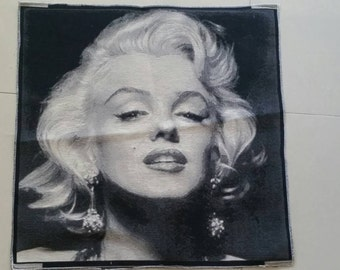 Vintage Marilyn Monroe Upholstery/ tapestry - 20 inches x 20 inches or 50cm x 50cm