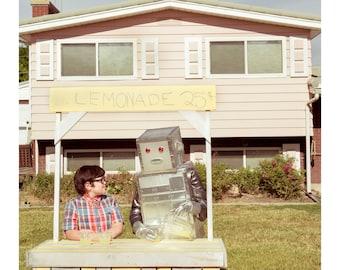 robot friend - lemonade