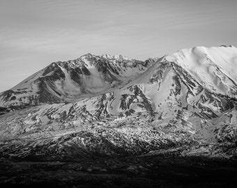 Mt St Helens Photography, Mountain Photograph, Washington Landscape Photograph, Pacific Northwest Photo, Wall Decor, Fine Art Photograph