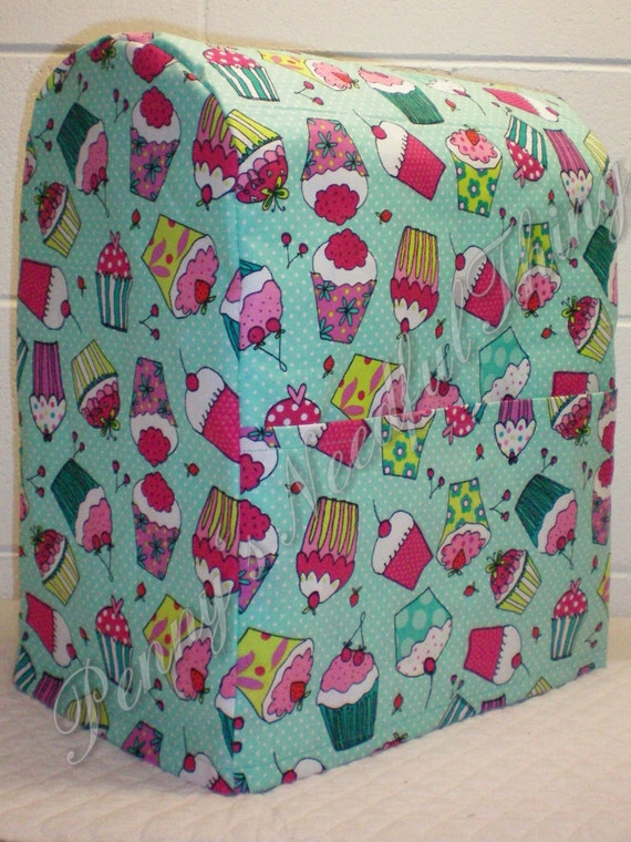 Teal Cupcake Cover For Kitchenaid 7qt Lift By