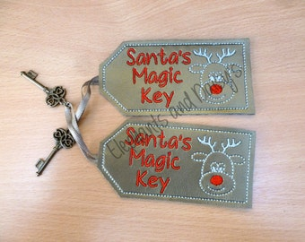 Santa's Magic Key Rudolf Design file