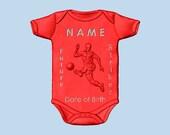 Baby Boy Soccer Player Nu...