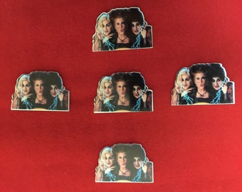 Set of 5 Hocus Pocus Resin
