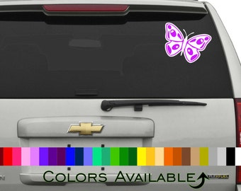 Butterfly (Multi color) Car Decal