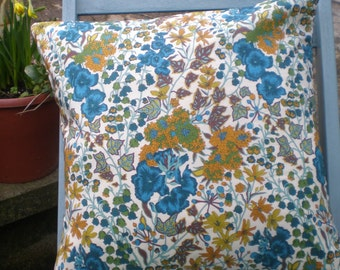 Liberty of London Fabric Cushion Cover - Edna -  Floral Design