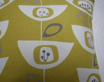John Lewis 'Seedheads' Cushion Cover Citrine