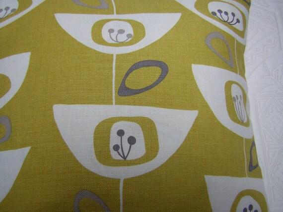 John Lewis 'Seedheads' Cushion Cover Citrine