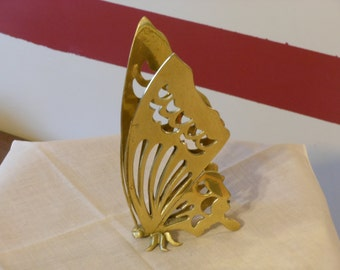 Vintage Decorative Brass Plated Butterfly