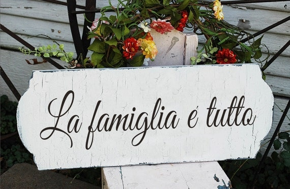 Family is Everything Sign from Etsy