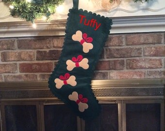 Unique dog stocking related items Etsy