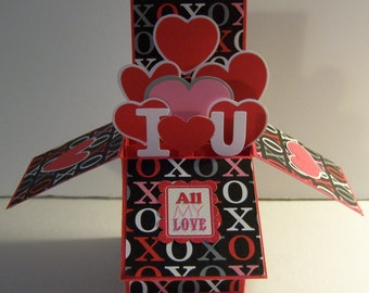 Valentine's Day Card in a Box