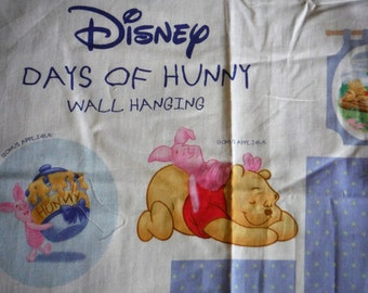 DISNEY DAYS of HUNNY Wall Hanging